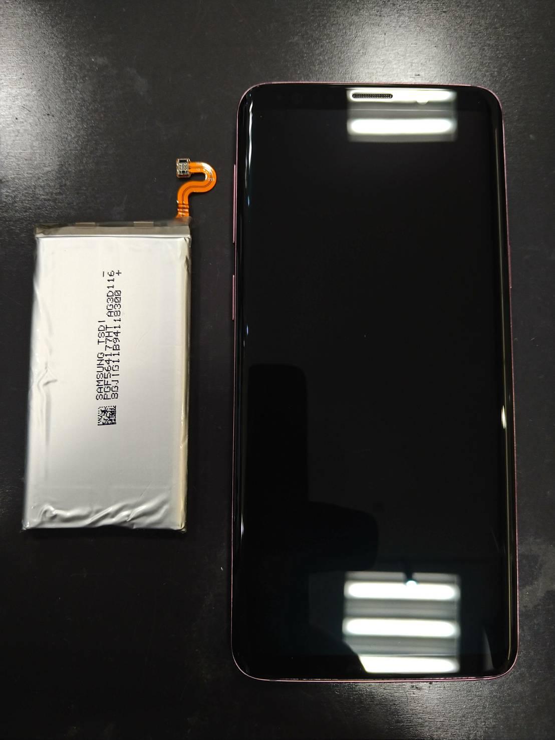 GalaxyS9のバッテリー交換